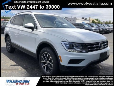 New 2020 Volkswagen Tiguan SE with 4MOTION®